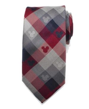 Mickey Mouse Plaid Men's Tie