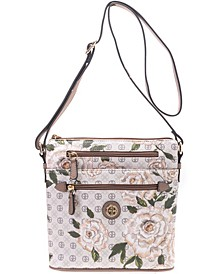 Floral Signature Crossbody, Created for Macy's