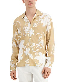 INC Men's Floral-Print Joey Shirt, Created for Macy's