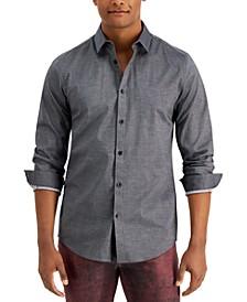 Men's Ringo Pindot Shirt, Created for Macy's