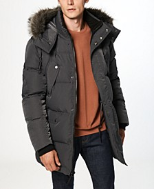 Orion Men's Matte Shell Parka Coat