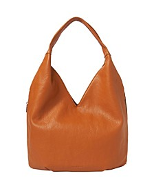 Love Success Vegan Leather Hobo Bag