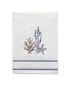 Abstract Coastal Hand Towel