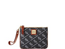 Dooney & Bourke Chicago White Sox League Collection Stadium Wristlet