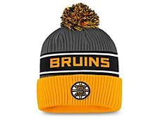 Boston Bruins 2020 Locker Room Pom Knit