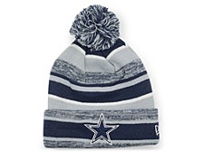 Dallas Cowboys Striped Marled Knit Hat