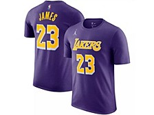 Los Angeles Lakers Youth Statement Name and Number T-shirt - Lebron James