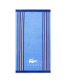 Oki Cotton Stripe Beach Towel