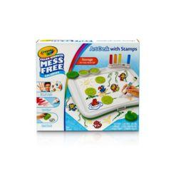 Crayola Color Wonder Art Desk w/Stamper, Gift for Kids, 3, 4, 5, 6