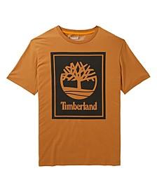 Men's Short Sleeve Stacked Logo Tee