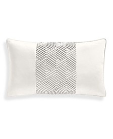 "Channels 14"" x 24"" Decorative Pillow, Created for Macy's"
