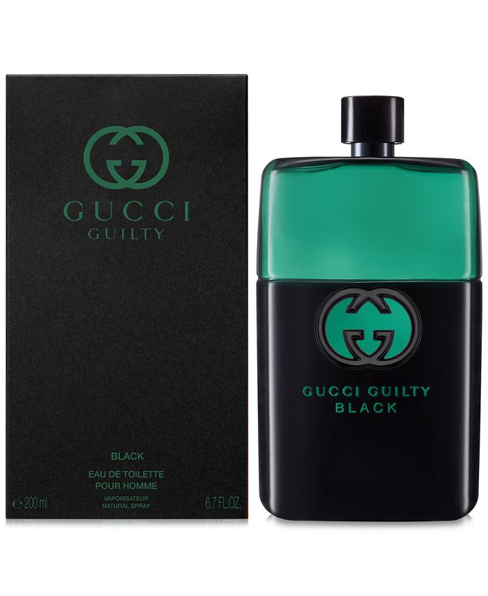 Gucci - Men's Guilty Black Pour Homme Eau de Toilette, 6.7-oz.