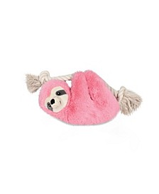 Sloth on a Rope Plush Dog Toy