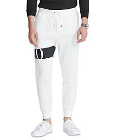 Men's Double-Knit Graphic Jogger Pants