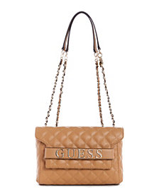 GUESS Illy Quilted Convertible Crossbody