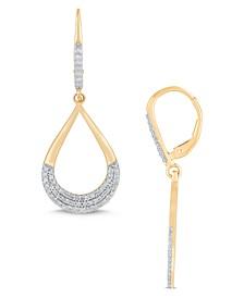 Diamond Dangle Earrings (1/2 ct. t.w.) in 14K Yellow Gold
