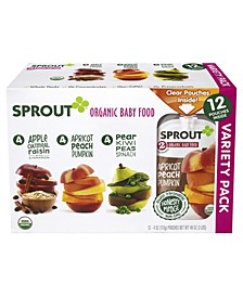 Baby Food Variety Pack, 4 oz, 12 Count