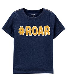 Toddler Boys Roar Snow Yarn Tee