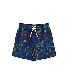 Baby Boys Dino Swim Trunks