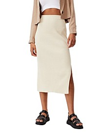 Women's Stella Knit Midi Skirt