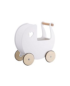 Moover Toy Baby Doll Wood Pram