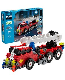 - GO! 360 Pieces Fire Fighter Truck - Model Vehicle Building Steam Toy