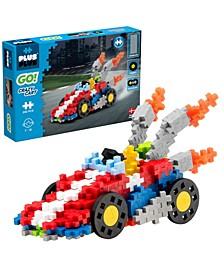 - GO! 240 Piece Crazy Cart Car - Model Vehicle Building Steam Toy