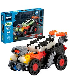 - GO! 240 Piece Hot Rod Car Model Vehicle - Building Steam Toy