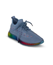 Women's Streak Rainbow Embroidered Sneakers