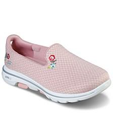 Women's Gowalk 5 - Garland Slip-On Walking Sneakers from Finish Line