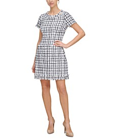 Tweed Sheath Dress