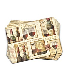 The French Cellar Placemats, Set of 4