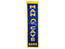Los Angeles Rams Man Cave Banner