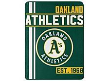Oakland Athletics Micro Raschel Walk Off Blanket