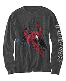 Big Boys The Amazing Spiderman Web T-shirt