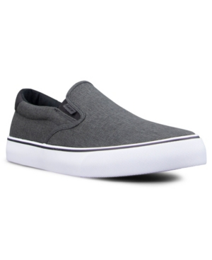Lugz Sneakers MEN'S CLIPPER LINEN CLASSIC SLIP-ON FASHION SNEAKER MEN'S SHOES