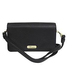 Women's Pebble Faux Leather Everything Minibag