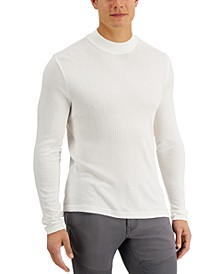 INC Men's Liam Mock-Neck Turtleneck Shirt, Created for Macy's