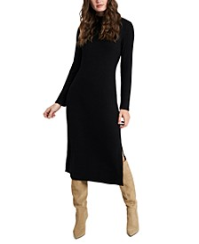 Ashleigh Cozy Wide Rib Dress, Created for Macy's