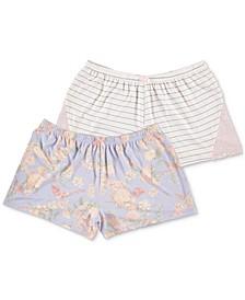 2-Pk. Knit Pajama Shorts