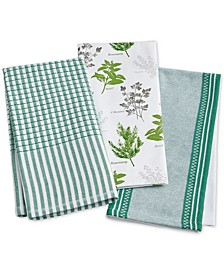 Farm Fresh Kitchen Towels, Set of 3, Created for Macy's