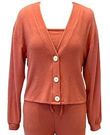 Ultra-Soft V-neck Cardigan, Created for Macy's