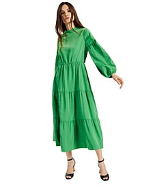 Tiered A-Line Dress, Created for Macy's