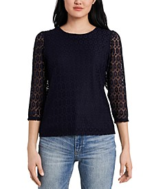 Emory Lace Top, Created for Macy's