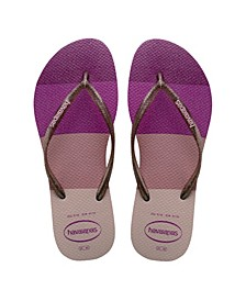 Kids Slim Palette Glow Flip Flop Sandal
