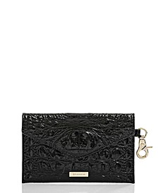 Melbourne Embossed Leather BYO Mask Case