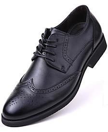 Men's Speckled Wingtip Oxford Dress Shoes