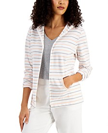 Striped Hooded Top, Created for Macy's