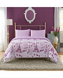 Paris Dream Mini 4-Piece Bed-in-a-Bag, Full