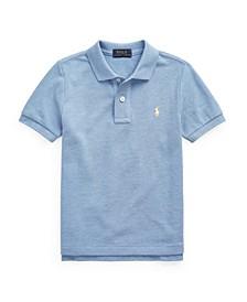 Little Boys Mesh Polo Shirt